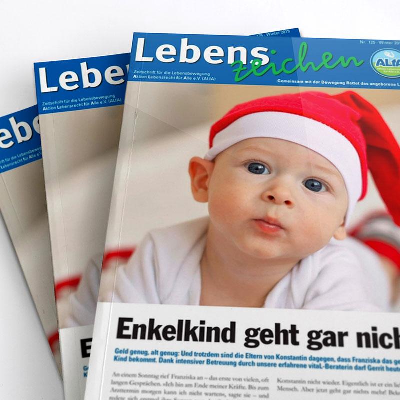 ALfA Magazin Lebenszeichen